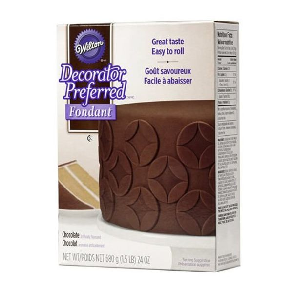 WILTON® DECORATOR PREFERRED™ FONDANT, CHOCOLATE