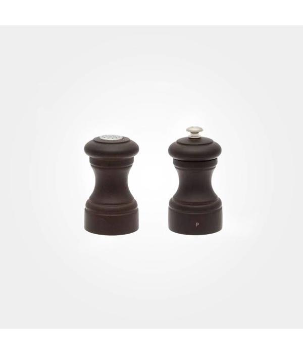 Peugeot Peugeot Bistro Pepper Mill and Salt Shaker Set, Chocolate