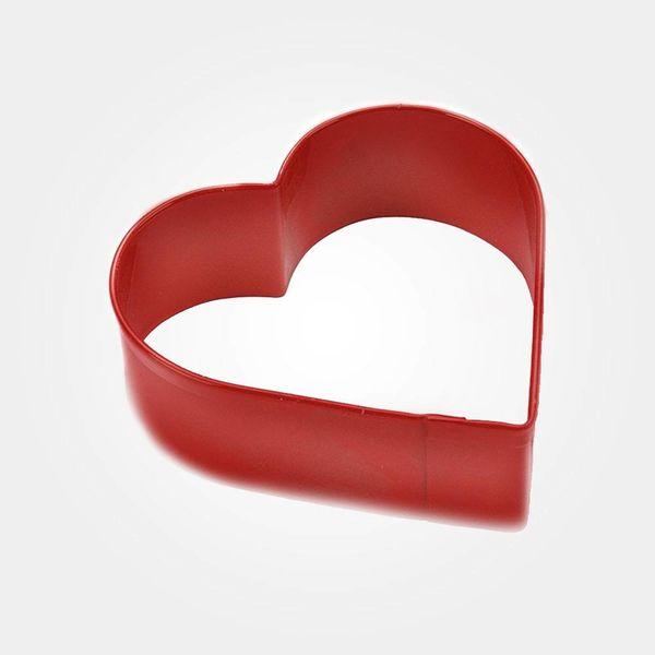Emporte-pièce en forme de cœur en métal Rouge Wilton