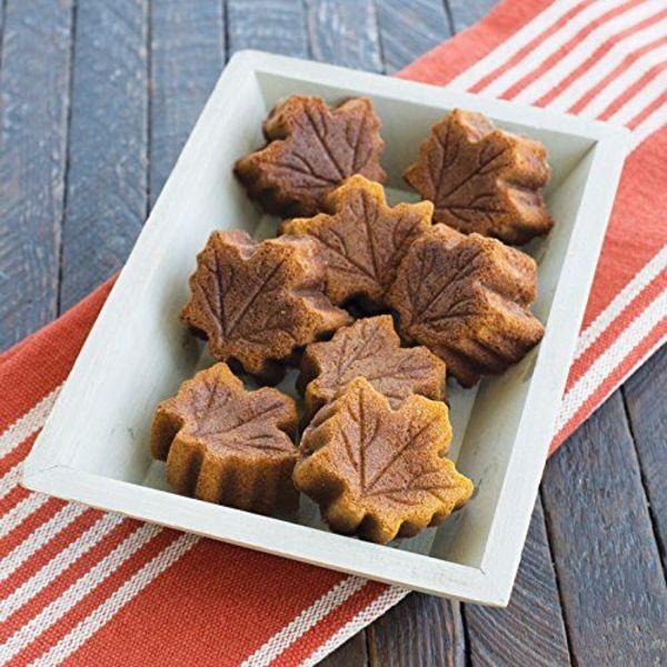 Nordic Ware Feuille d'érable Moule à muffins