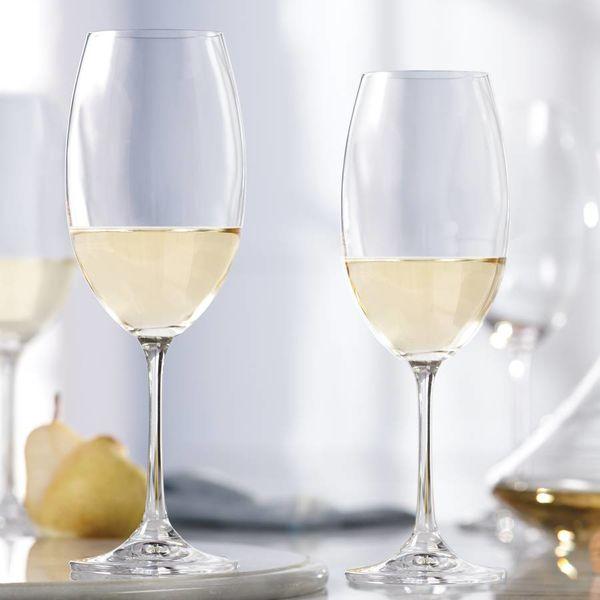 Ensemble de 4 Verres en cristalline à vin blanc de Mann