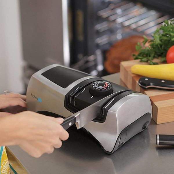 Kitchen IQ Adjustable Angle Electric Knife Sharpener