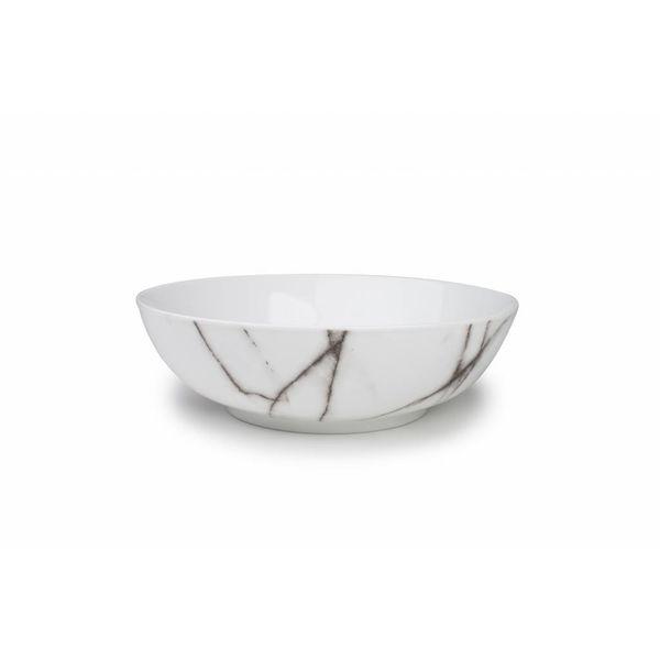 Salt & Pepper Marble 24 cm Salad Bowl