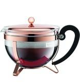 Bodum Théière Chambord Cuivre rosé et tamis inox par Bodum