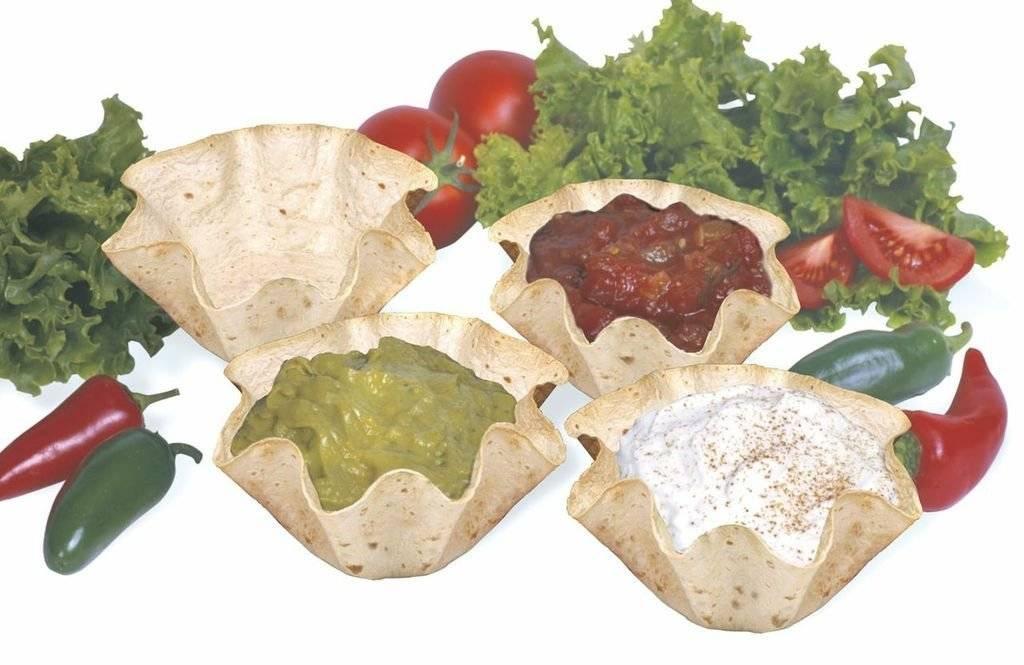 Norpro Nonstick Mini Tortilla Baker Bowl Set of 4