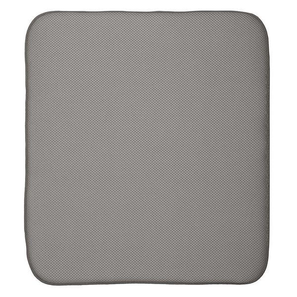 InterDesign Idry Mat Large Pewter/Ivory