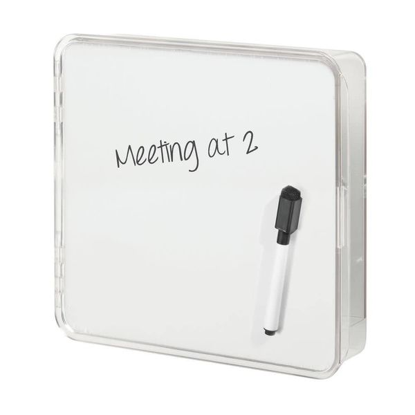InterDesign Linus Wall Mount Key Box with Dry-Erase