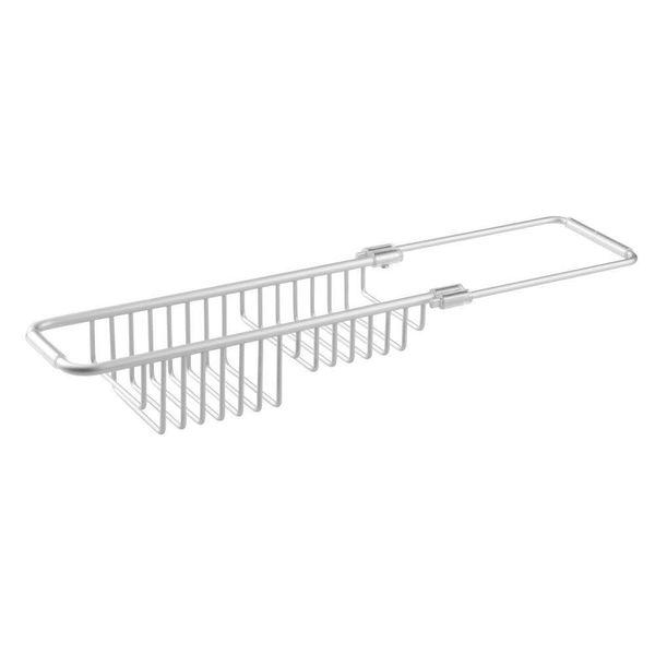 Support à éponges en aluminium extensible Metro de InterDesign
