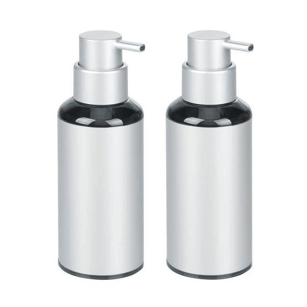 Pompe à savon aluminium Metro de argent de InterDesign