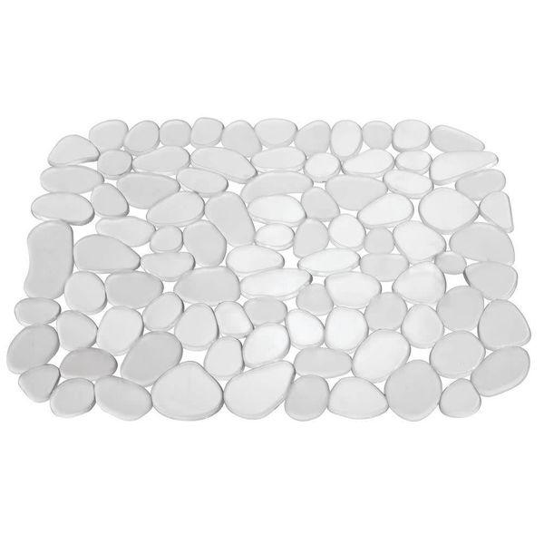 Tapis d'évier transparent petit format Pebblz de InterDesign