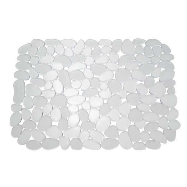 InterDesign Pebblz Sink Mat Clear Large