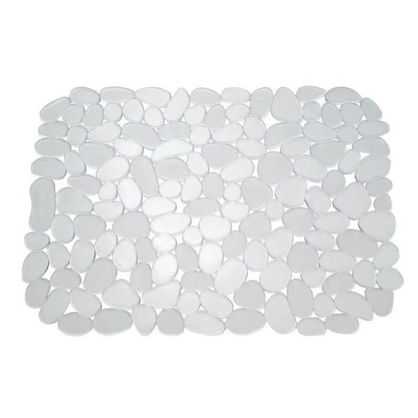 Tapis d'évier transparent grand format Pebblz de InterDesign