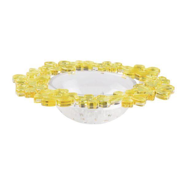 Filtre jaune pour drain d'évier Blumz de InterDesign