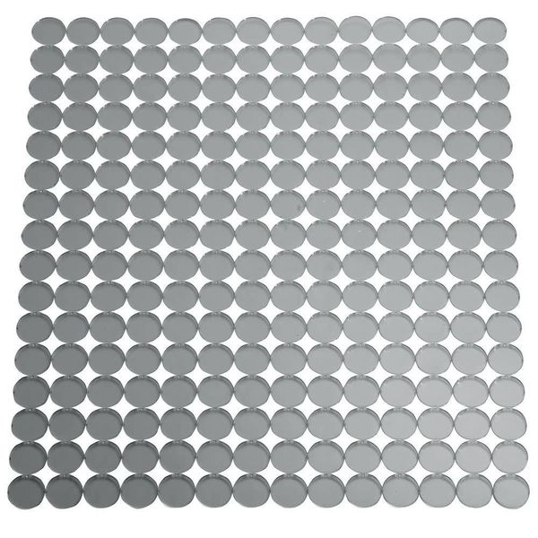 InterDesign Orbz Kitchen Sink Mat Regular Graphite