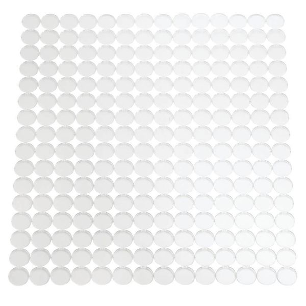 InterDesign Orbz Kitchen Sink Mat Regular Clear