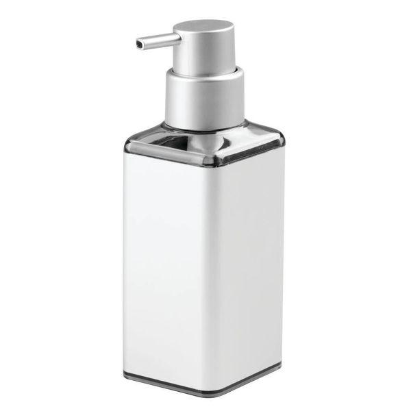 Pompe à savon carrée Metro Ultra de InterDesign