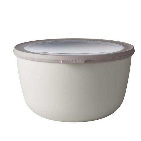 Mepal Cirqula Multi Bowl & Lid 3L Nordic  White