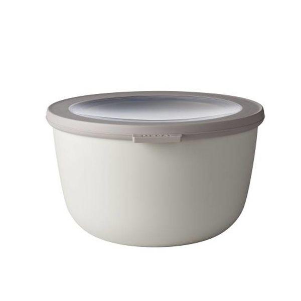 Mepal Cirqula Multi Bowl & Lid 2L Nordic White