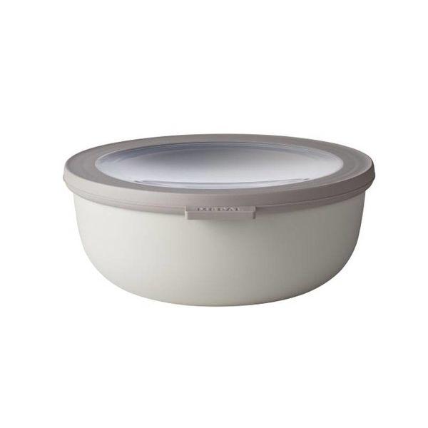 Mepal Cirqula Multi Bowl & Lid 1.25L Nordic White