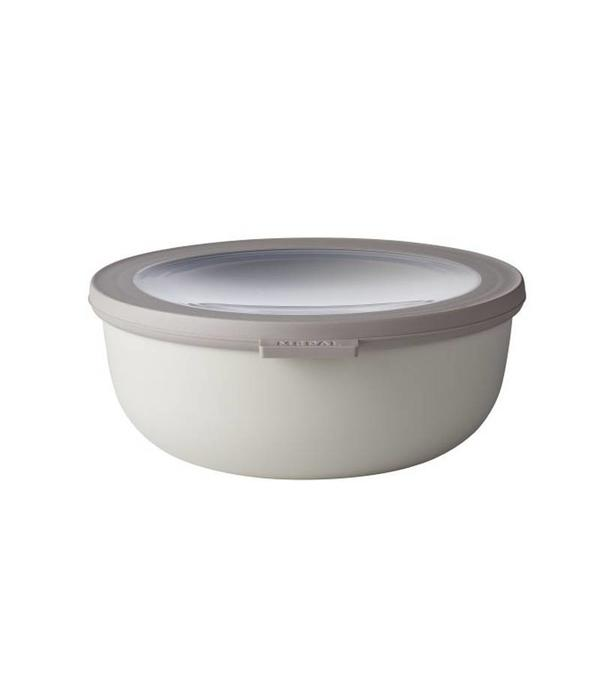 Rosti Mepal Rosti Mepal Cirqula Multi Bowl & Lid 1.25L Nordic White