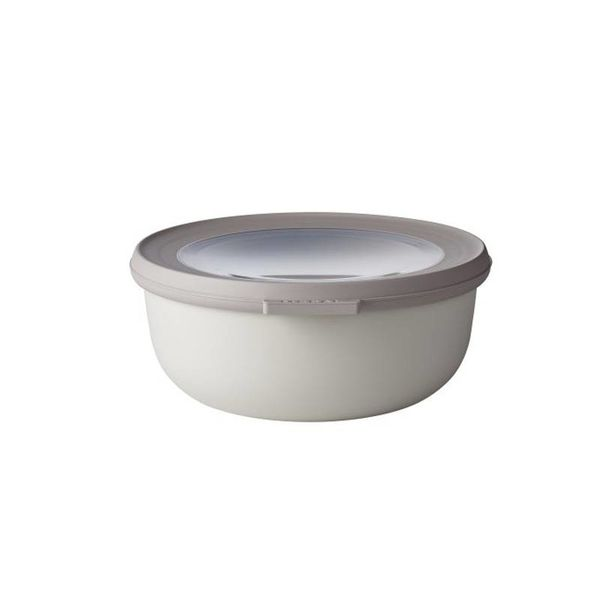 osti Mepal Cirqula Multi Bowl & Lid 750ml Nordic  White