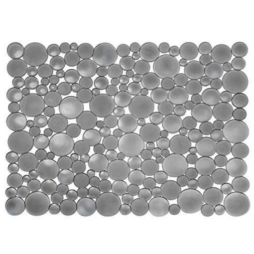 Interdesign Tapis d'évier graphite Bubbli grand format de InterDesign