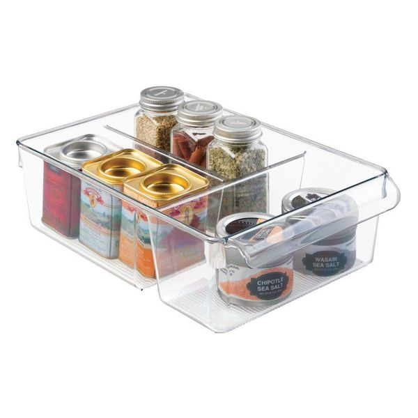 InterDesign Linus Pullz Bin 8 with Dividers