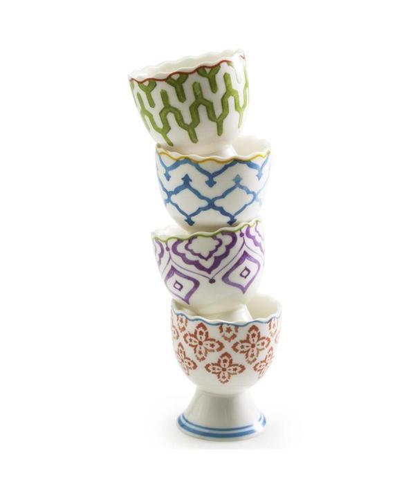 BIA Cordon Bleu Coquetiers en porcelaine MARRAKECH par BIA