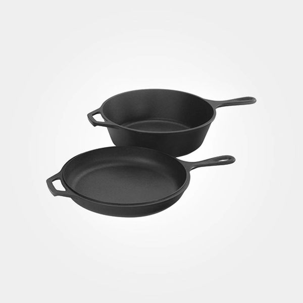 Lodge 3 L Cast Iron Combo Cooker