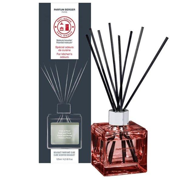 """Bouquet parfumé cube anti odeur de cuisine """"Frais et Fleuri"""" par Lampe Berger Paris"""
