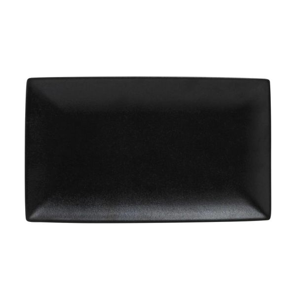 Caviar Rectangle Platter 34.5x19.5cm by Maxwell & Williams