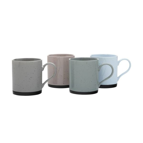 Ensemble de 4 tasses Tavelure par Maxwell & Williams