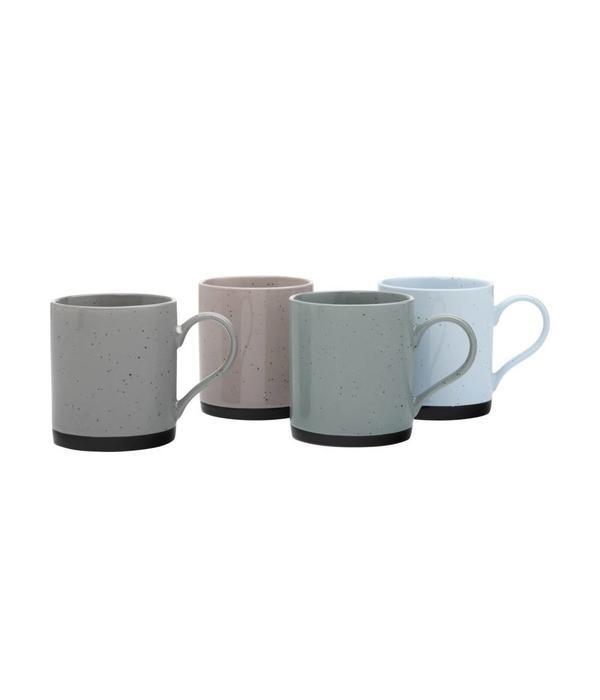 Maxwell & Williams Speckle Mug Set of Four 350ml by Maxwell & Williams