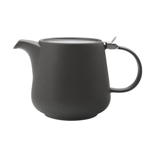 """Théière """"Tint"""" 1.2L gris foncé de Maxwell & Williams"""