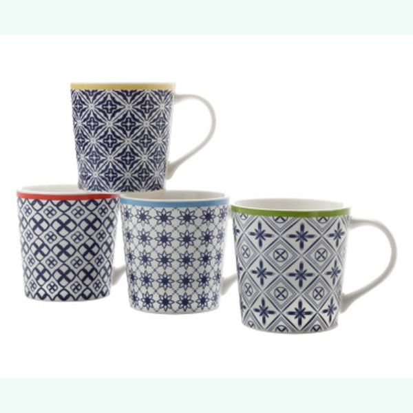 "Maxwell & Williams Set of 4 ""Luxor"" Mugs"