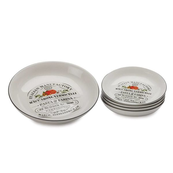 "Maxwell & Williams ""Bari"" Pasta Set"