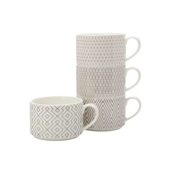 Ensemble de 4 tasses empilables par Maxwell & Williams