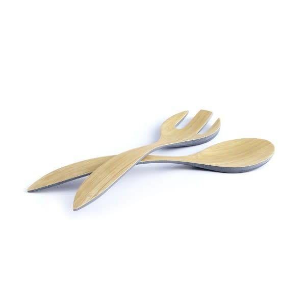 Service à salade en bamboo gris de ICM