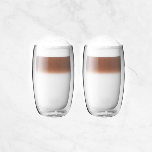 Zwilling Sorrento Double Wall Latte Glasses, Set of 2