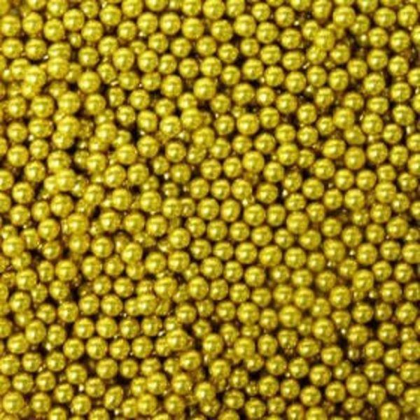 Wilton Gold Sugar Pearls