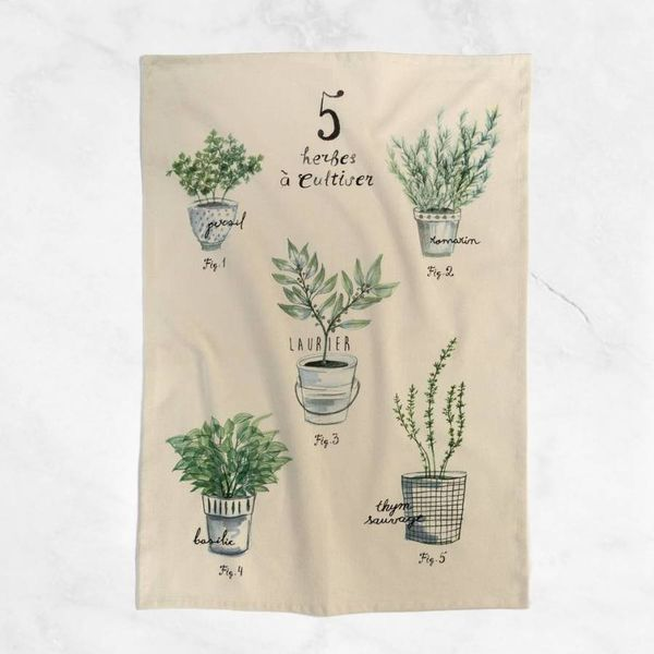 "Ricardo Tea Towel ""Fine herbs"""