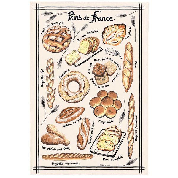 "Torchon coton ""Bread"" de T&B"