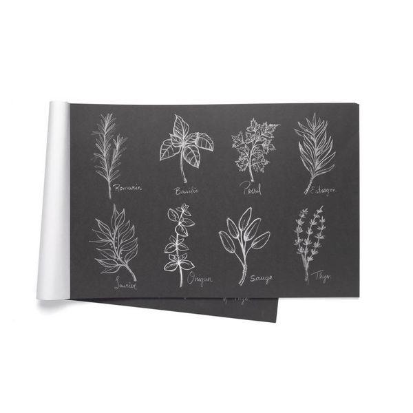 Napperons de papier « Fines herbes » par Ricardo