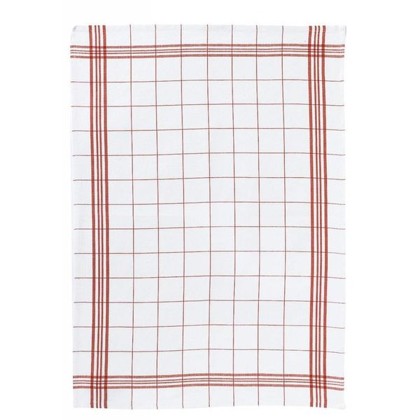 "Winkler ""Classic Square"" Red Dish Towel"