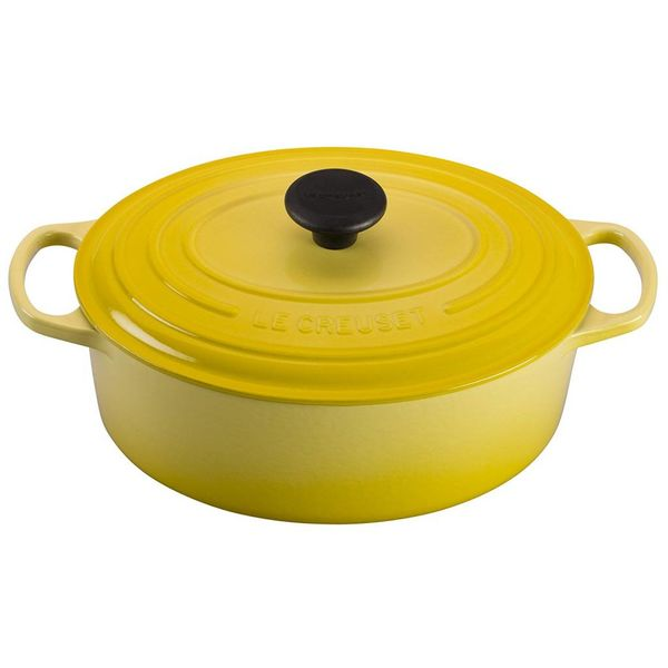Le Creuset 4.7L Oval French Oven, Soleil