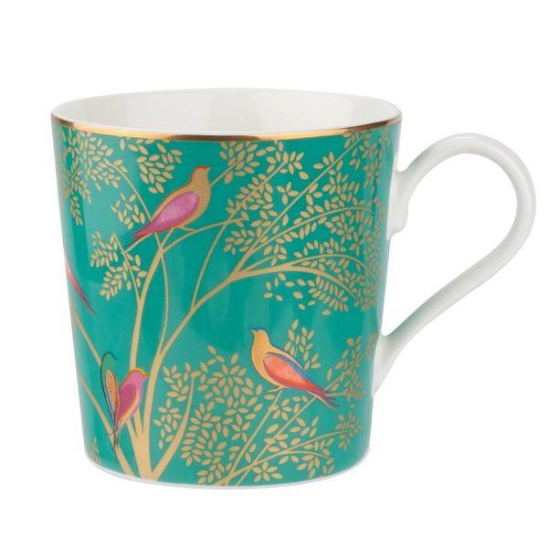 Sara Miller London for Portmeirion Chelsea Collection Mug - Dark Green