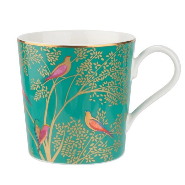"Tasse verte de la collection ""Chelsea de Sara Miller London"" par Portmeirion"