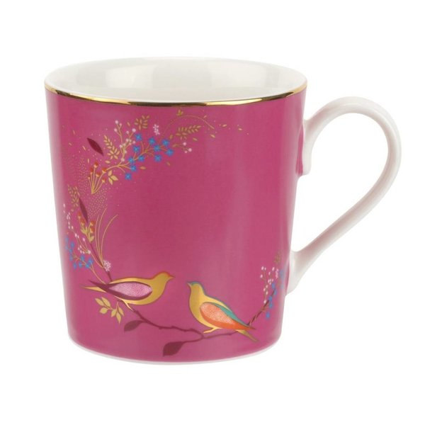 "Tasse rose de la collection ""Chelsea de Sara Miller London"" par Portmeirion"
