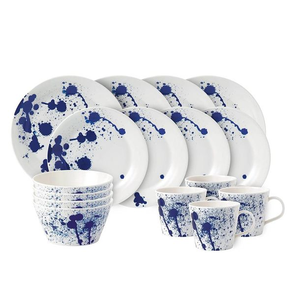 "Royal Doulton ""Splash"" 16-piece Dinnerware Set"