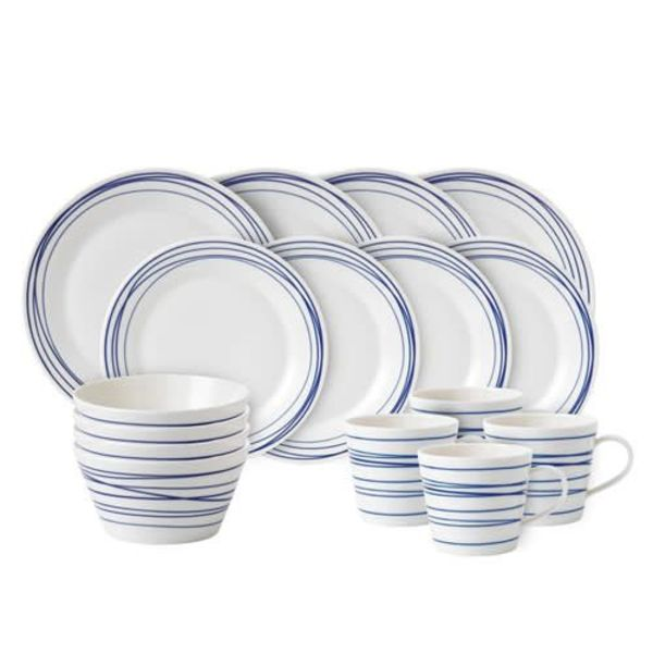 Royal Doulton Pacific Lines 16-piece Dinnerware Set